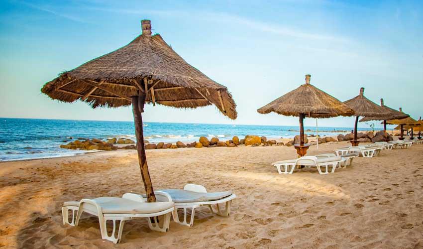 senegal pas cher hotel all inclusive plage et transat
