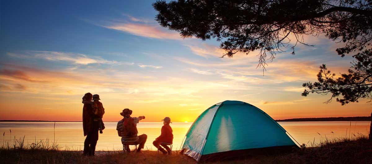 huttopia image principale famille camping nature