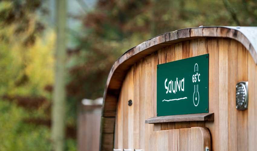 huttopia espaces bien etre sauna