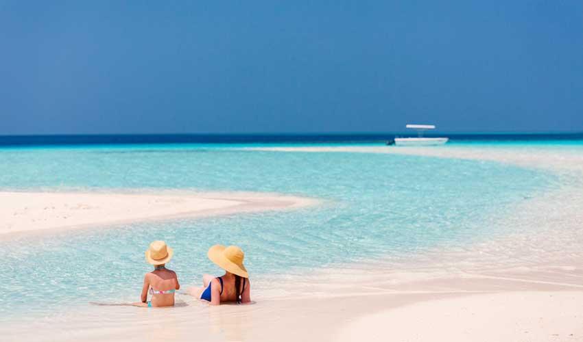 maldives pas cher famille sur plages paradisiaques