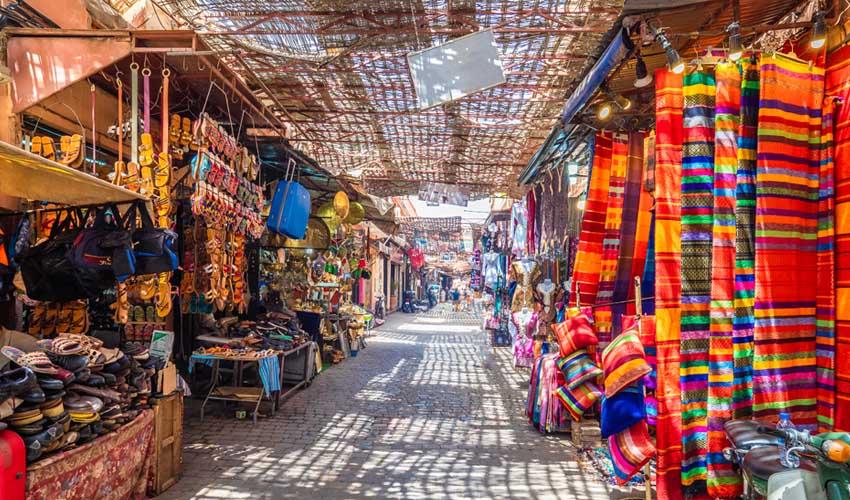 maroc pas cher souk et marche