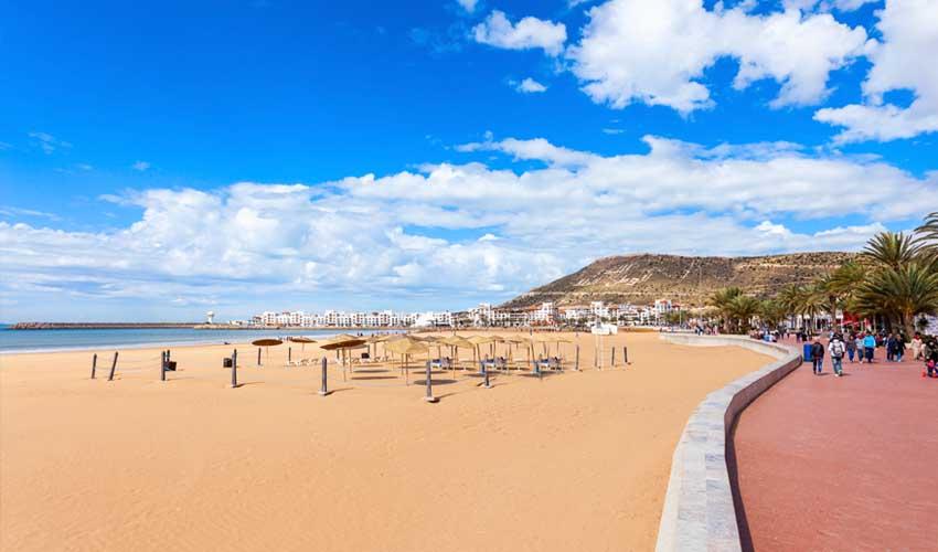 maroc pas manquer plages d'agadir