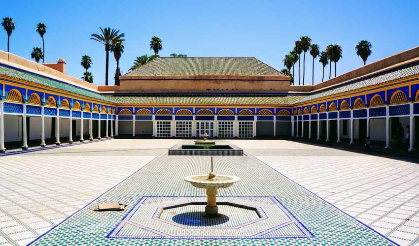 maroc pas manquer palais de la bahia marrakech