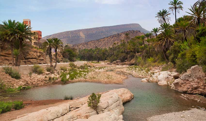 maroc pas manquer vallee du paradis vallee immouzer oasis