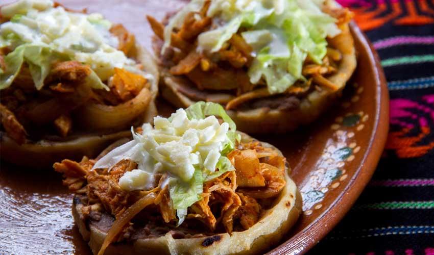 mexique pas cher tinga sopes nourriture mexicaine