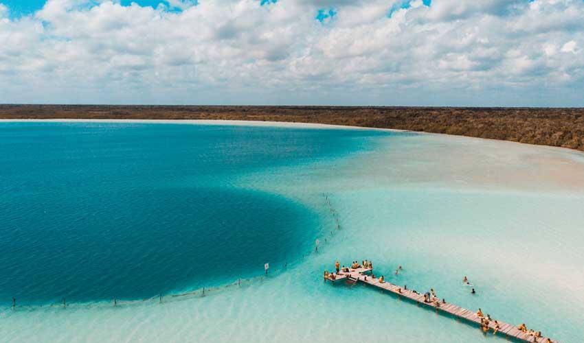 mexique pas manquer laguna kaan luum jugle et reserve tropicale