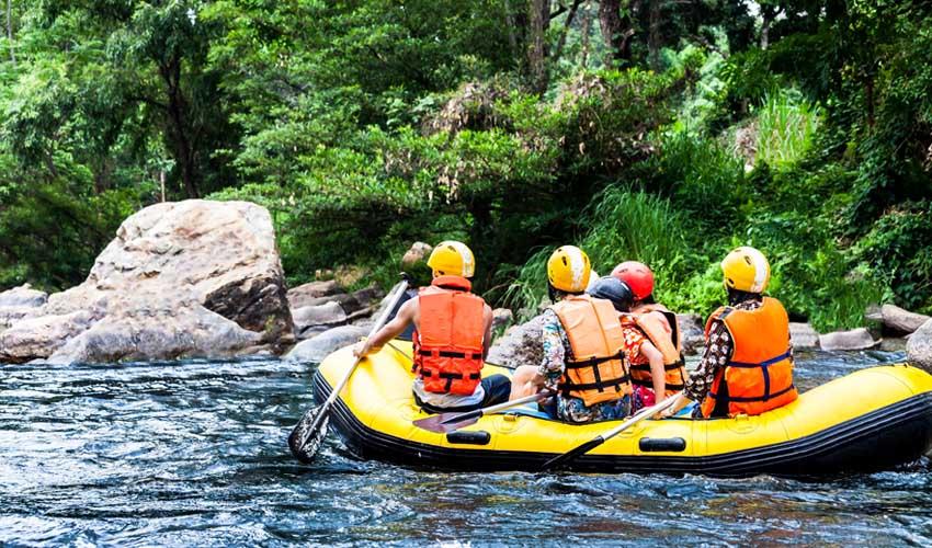 nemea residence sejour montagne en ete rafting sport d'eaux vives
