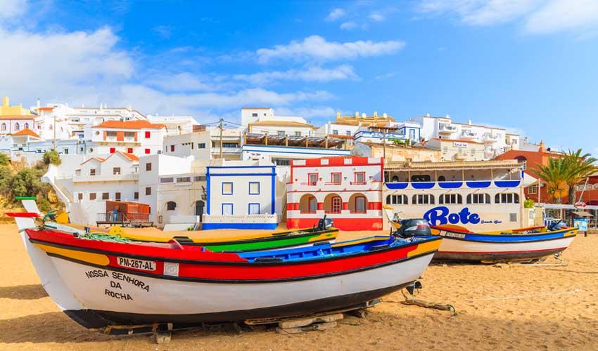 portugal a faire bateaux carvoeiro