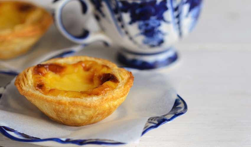 portugal pas cher pasteis de nata nourriture locale