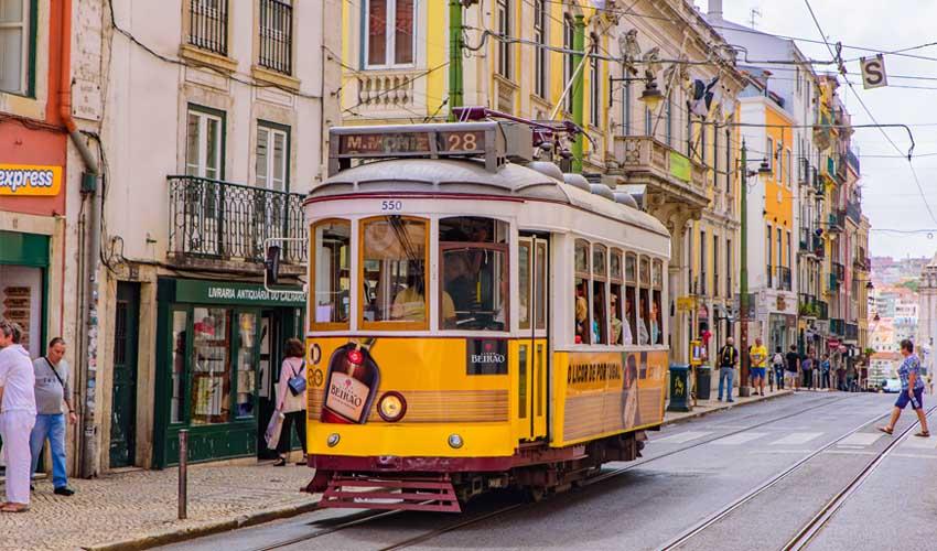 portugal pas cher tram 28 transports communs