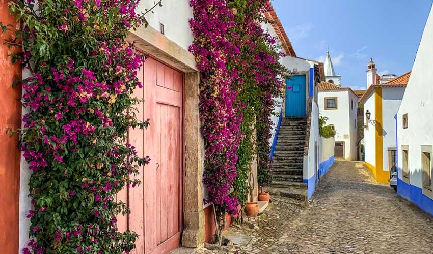 portugal pas manquer obidos village