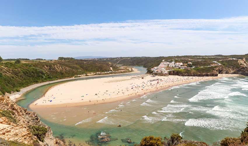 portugal pas manquer praia de odeceixe