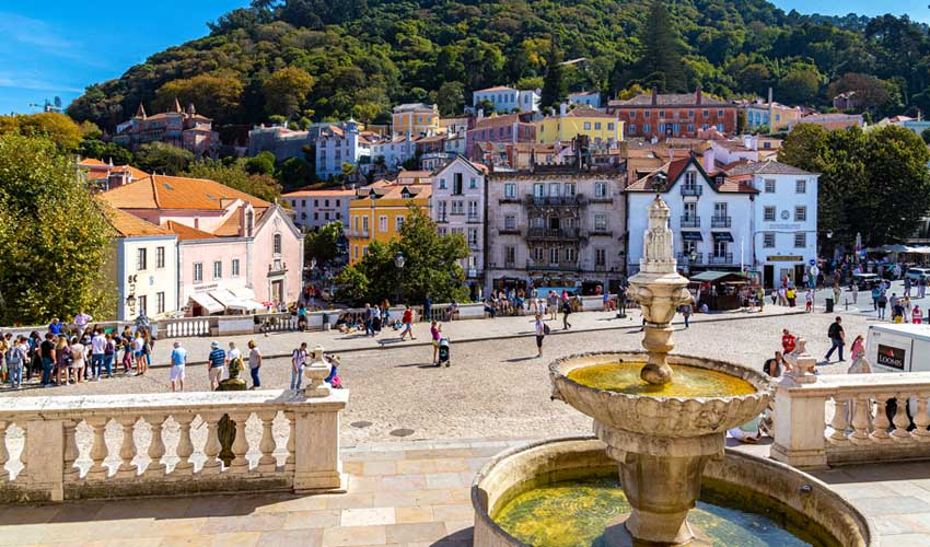 portugal pas manquer sintra center