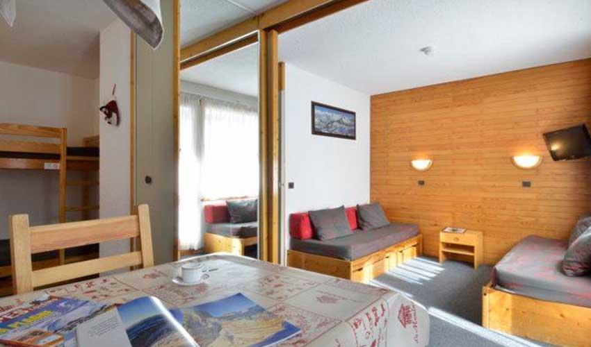 travelski presentation gamme classic logement residence beryl belle plagne