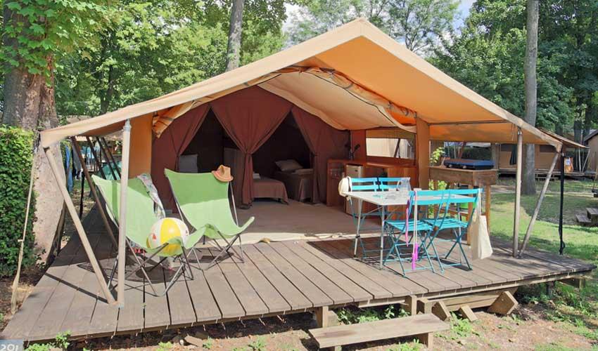 huttopia les campings tente classic