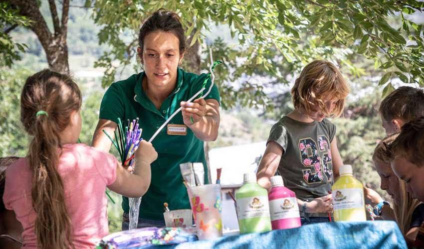 huttopia les campings recre enfants