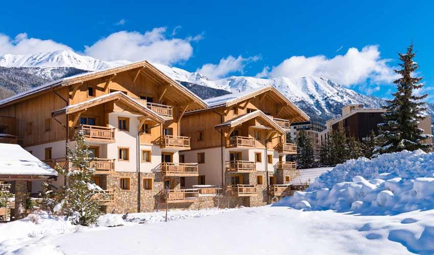 lagrange vacances sejours ski type hebergement residence