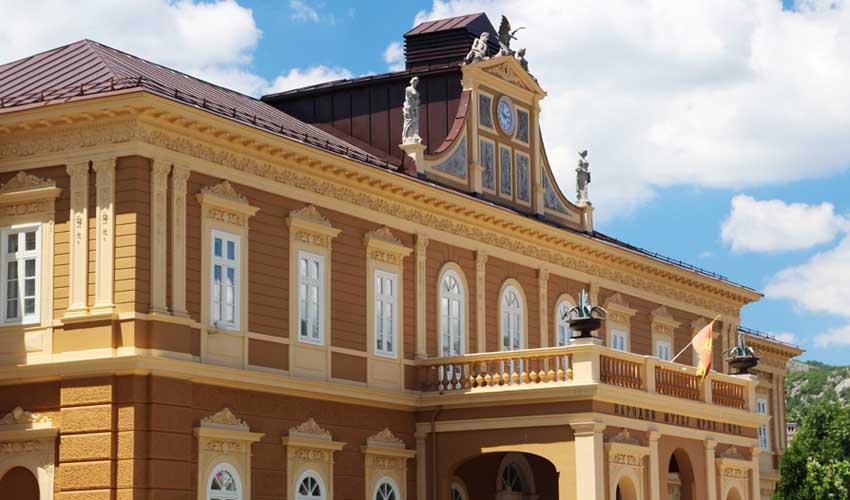 montenegro a faire cetinje palais musee du montenegro
