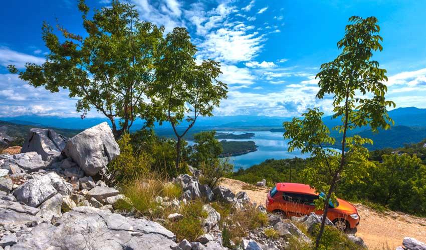 montenegro pas cher location voiture paysages balkans