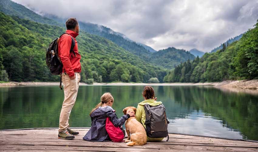 montenegro pas cher randonnee en famille pres d'un lac