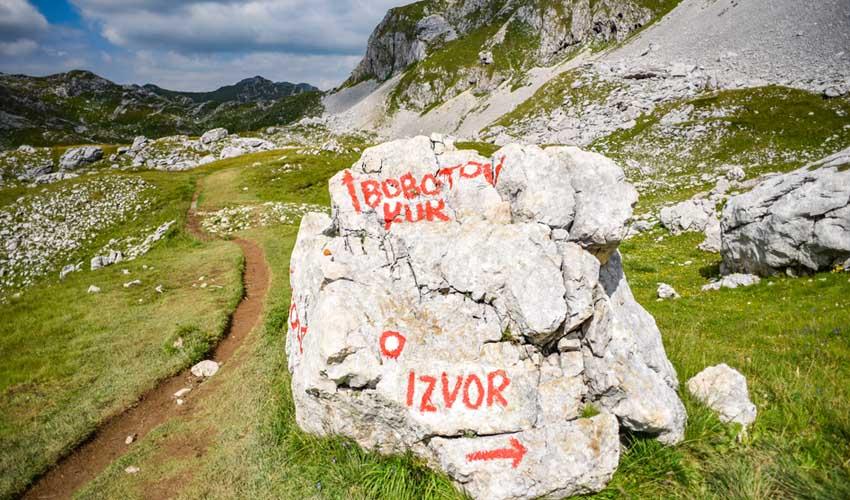 montenegro pas manquer ascension et rando dans les montagnes du durmitor : bobotov kuk