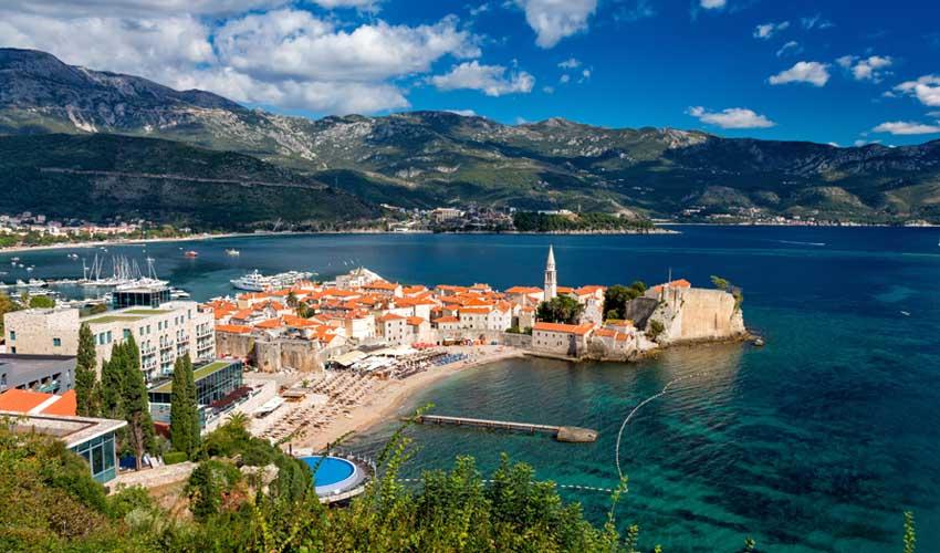 montenegro pas manquer budva vieille ville