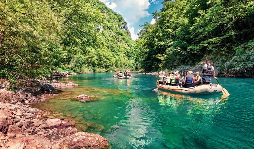 montenegro pas manquer riviere tara rafting
