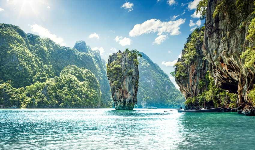 thailande a faire baie de phang nga ile de james bond