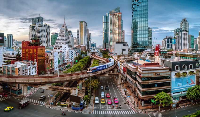 thailande a faire bangkok ville moderne