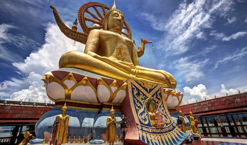 thailande a faire koh samui temple wat phra yai