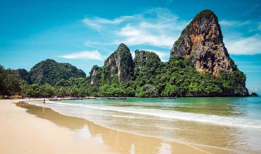 thailande a faire krabi plage de railay