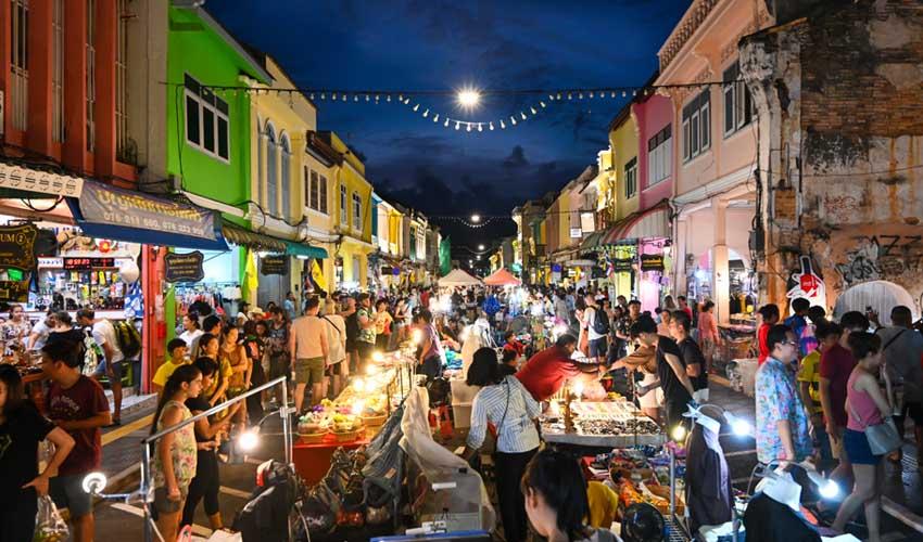 thailande a faire phuket vieille ville