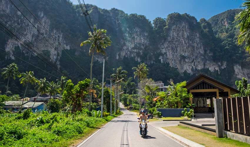 thailande pas cher louer un scooter
