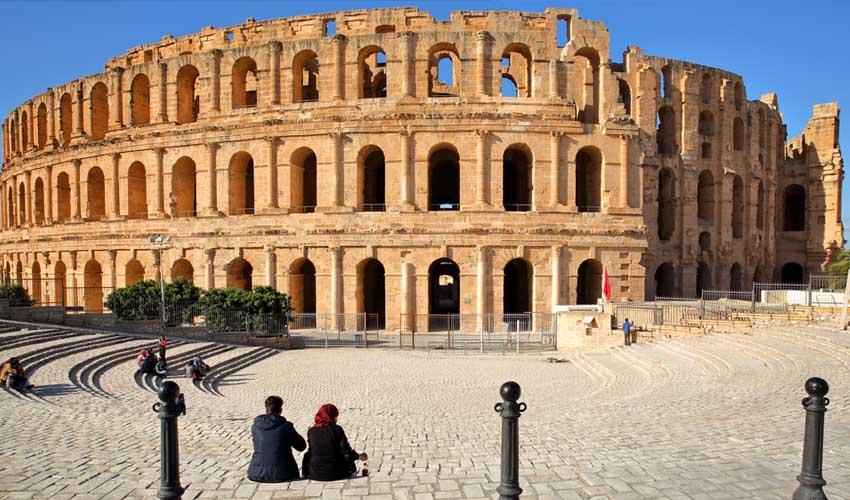 tunisie pas manquer el jem amphitheatre