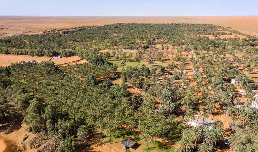 tunisie pas manquer oasis ksar ghilane