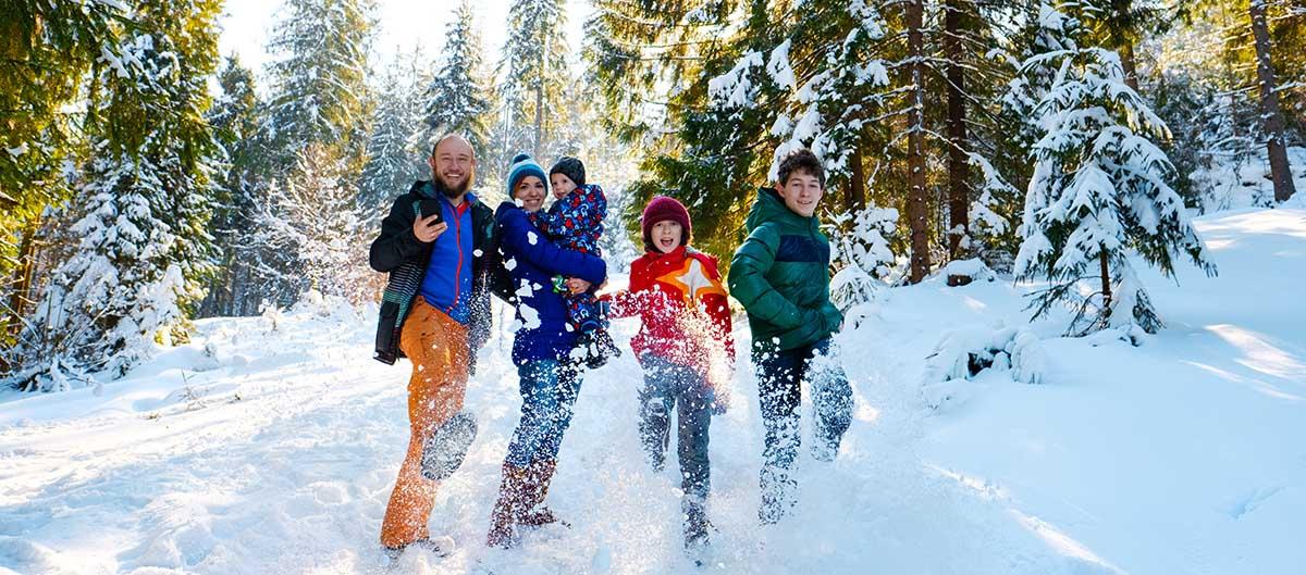 Vacances de Noël en famille à la neige avec MMV
