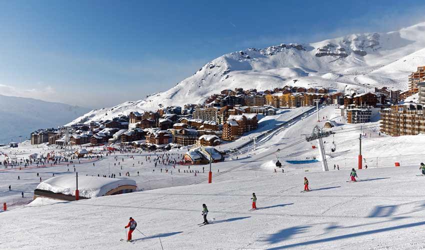 Val Thorens pour des vacances de Noël à la montagne