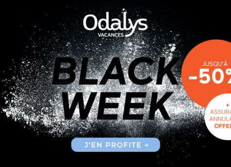 Black Friday : Vacances moins chères avec Odalys-Vacances