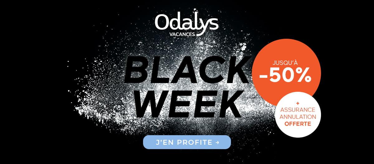 Black Friday vacances pas cher avec Odalys