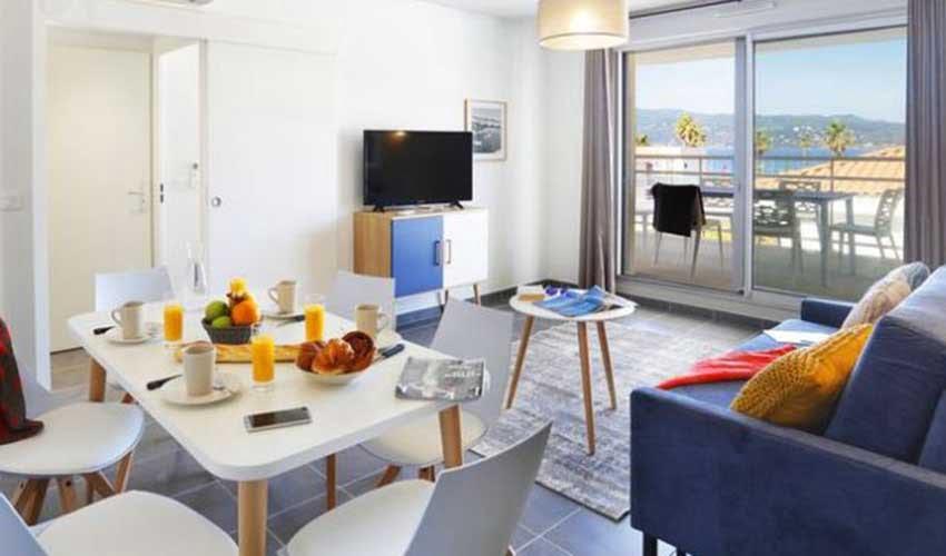 Appartement de la résidence Nemea Cap Azur à Saint-Mandrier-sur-Mer