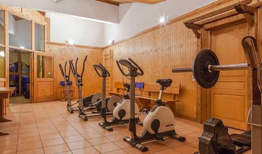 travelski location groupe residence les balcons du val cenis le haut salle de fitness