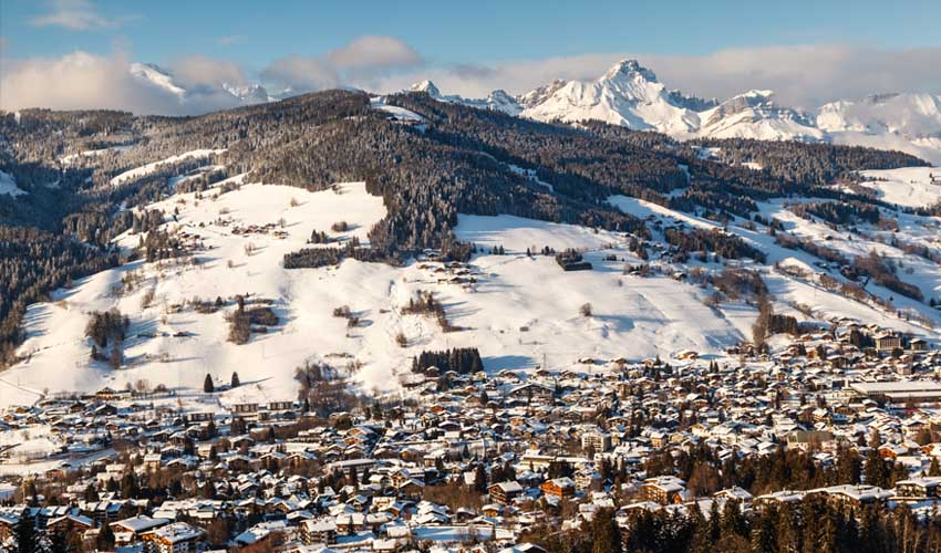 travelski ski m'arrange village et station de megeve