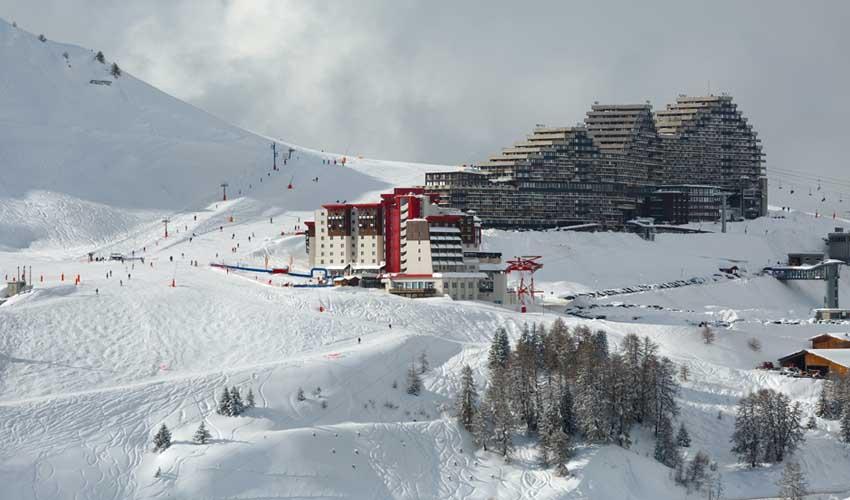 travelski skissim premium residence les hauts bois la plagne pistes