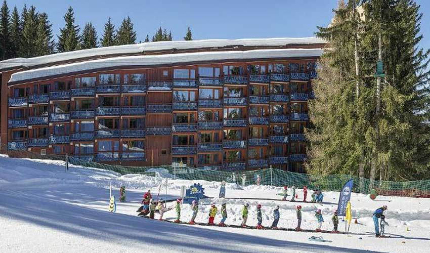 travelski top stations residence skissim select le belmont arcs 1800