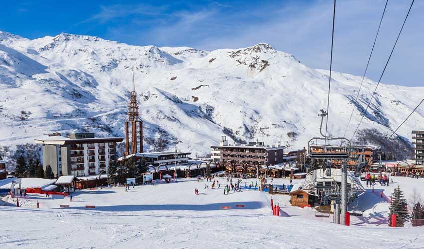 travelski top stations de ski les menuires val thorens pistes