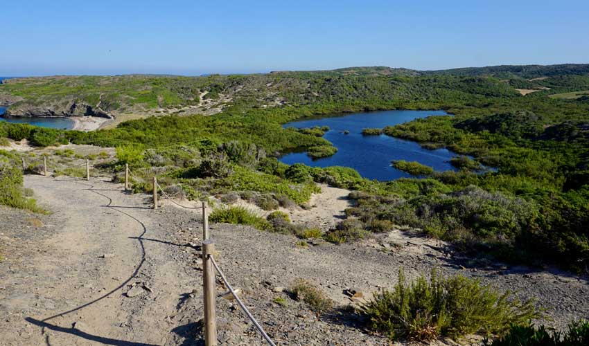 Le Parc Naturel de S'Albufera d'es Grau, à Minorque