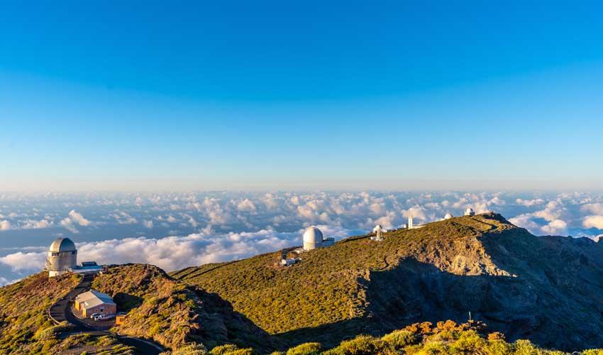 canaries pas manquer Roque de los Muchachos observatoires d'astrophysique nuit etoilee