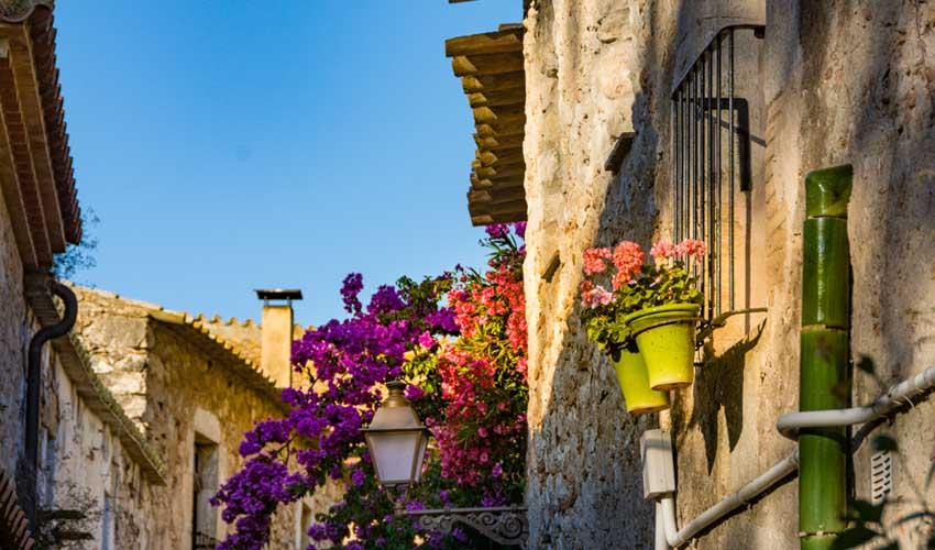 costa brava pas manquer escala Sant Marti Empuries village