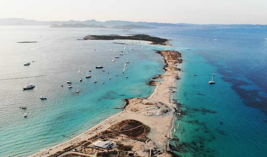 ibiza pas manquer platja De Ses Illetes ile de Formentera