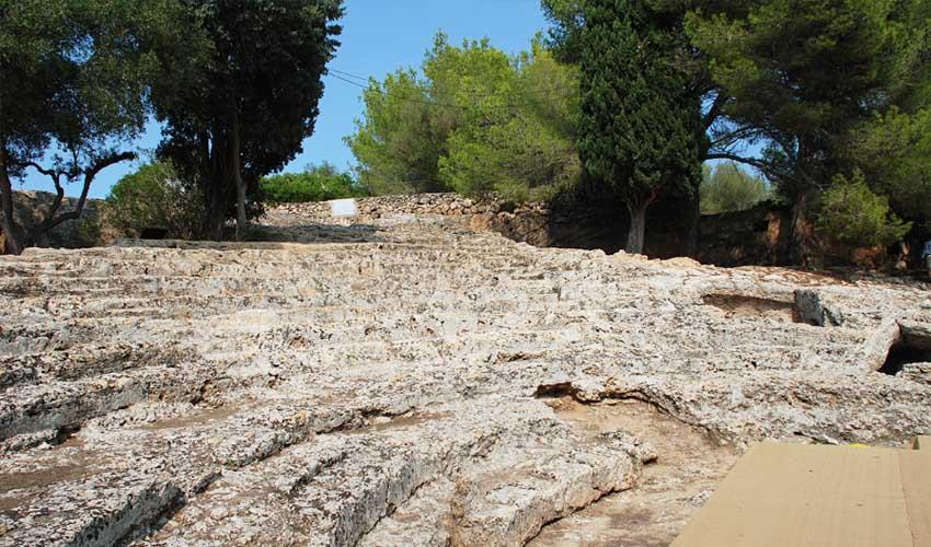 majorque pas manquer ruines de la cité romaine de pollentia alcudia